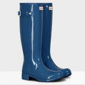 Hunter   Original High Gloss Boot   Size 10
